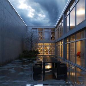 exterior rendering